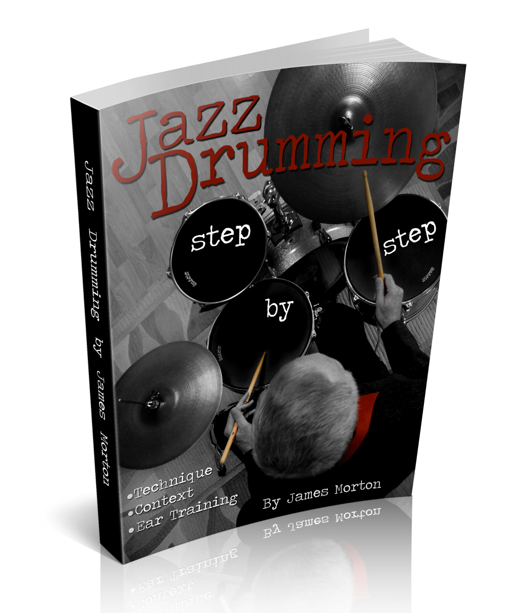 Jazz Drumming Book Cover
